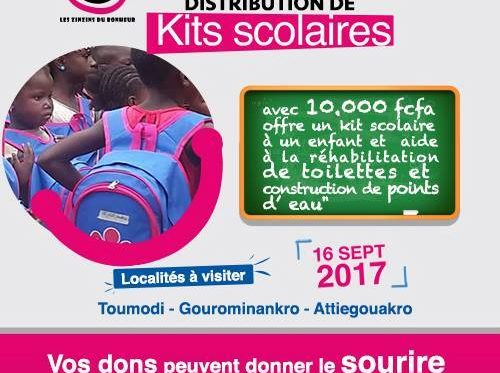 La Distribution des kits Scolaires