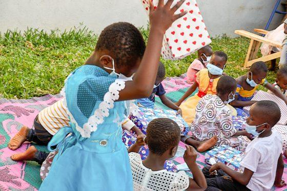 Caravane du bonheur à l'orphelinat Dieu peut tout faire d'agniblekro
